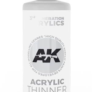 AK Interactive Acrylic Thinner 100ml 11500