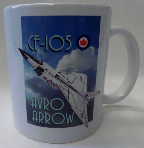 Avro Arrow CF-105 Coffee Mug SUP-MUGAVR201