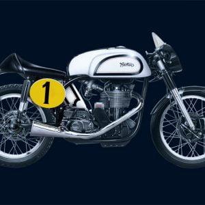 Italeri Norton Manx 500cc 1951 1/9 Scale 4602