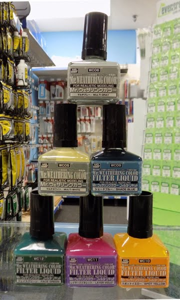 Mr Weathering Color Now Available at Sunward Hobbies