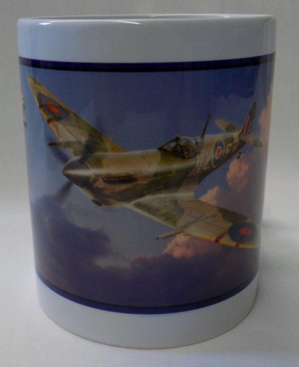 centre view Spitfire Coffee Mug SUP-MUG-SPIT