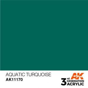 AK Interactive Acrylic Aquatic Turquoise Standard 11170