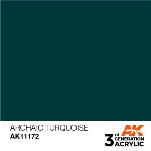 AK Interactive Acrylic Archaic Turquoise Standard 11172