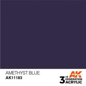 AK Interactive Acrylic Amethyst Blue Standard 11183
