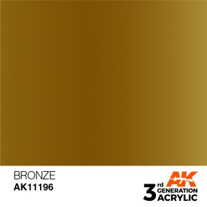 AK Interactive Acrylic Bronze Metallic 11196