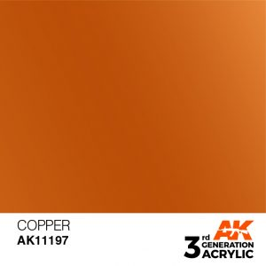 AK Interactive Acrylic Copper Metallic 11197