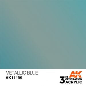 AK InteractiveAK Interactive Acrylic Blue Metallic 11199