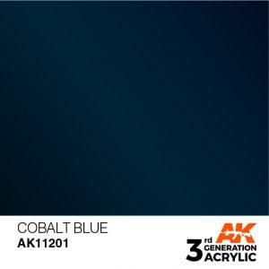 AK Interactive Acrylic Cobalt Blue Metallic 11201