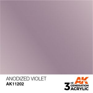 AK Interactive Acrylic Anodized Violet Metallic 11202