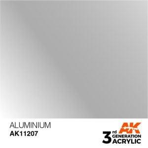 AK Interactive Acrylic Aluminium Metallic 11207