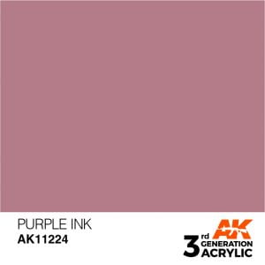AK Interactive Acrylic Purple Ink 11224