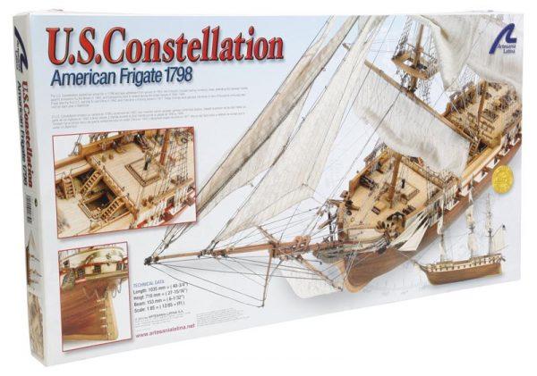 Artesania Latina US Frigate 1798 Constellation 1/85 Kit 22850