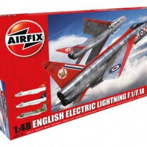 Airfix English Electric Lightning F1/F1A/F2/F3 1:48 Scale A09179