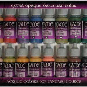 Vallejo Extra Opaque Colors Paint Set of 16 72290