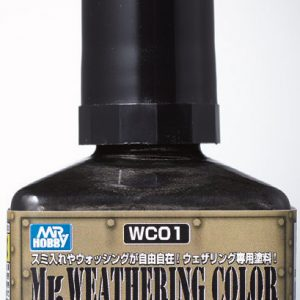 Mr Weathering Color Multi Black WC01