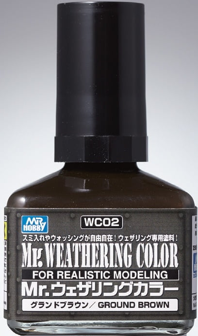 Mr Weathering Color Ground Brown WC02