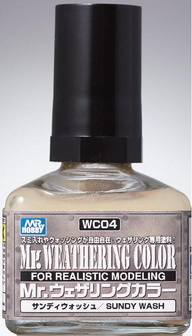 Mr Weathering Color Sandy Wash WC04