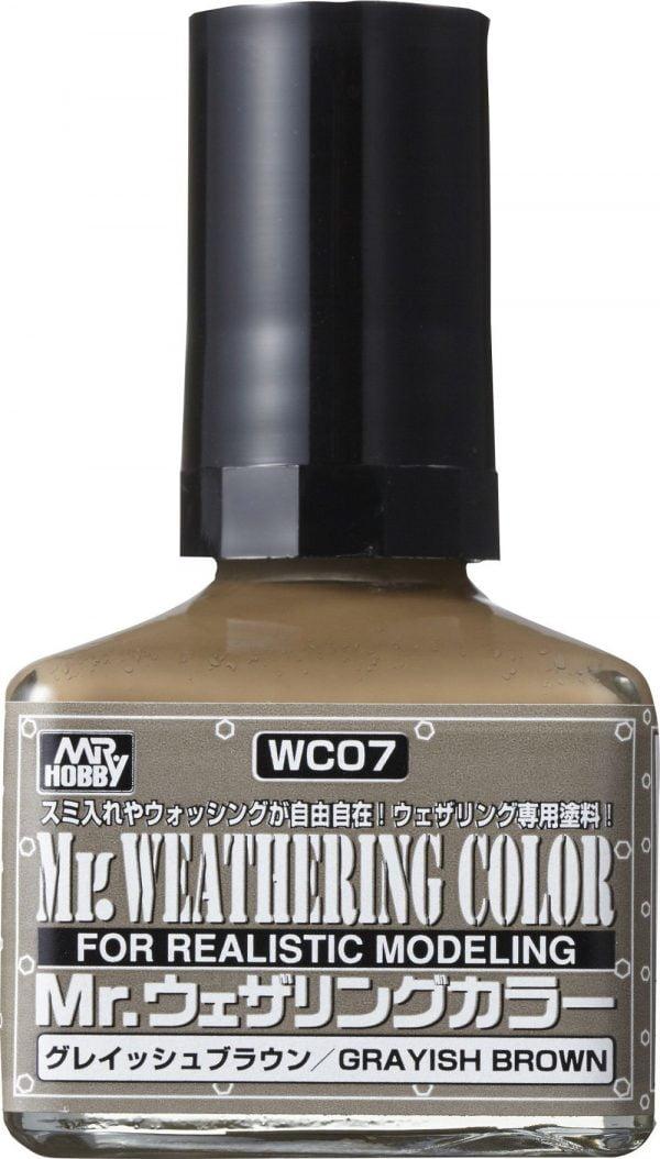 Mr Weathering Color Greyish Brown WC07