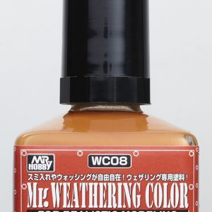 Mr Weathering Color Rust Orange WC08