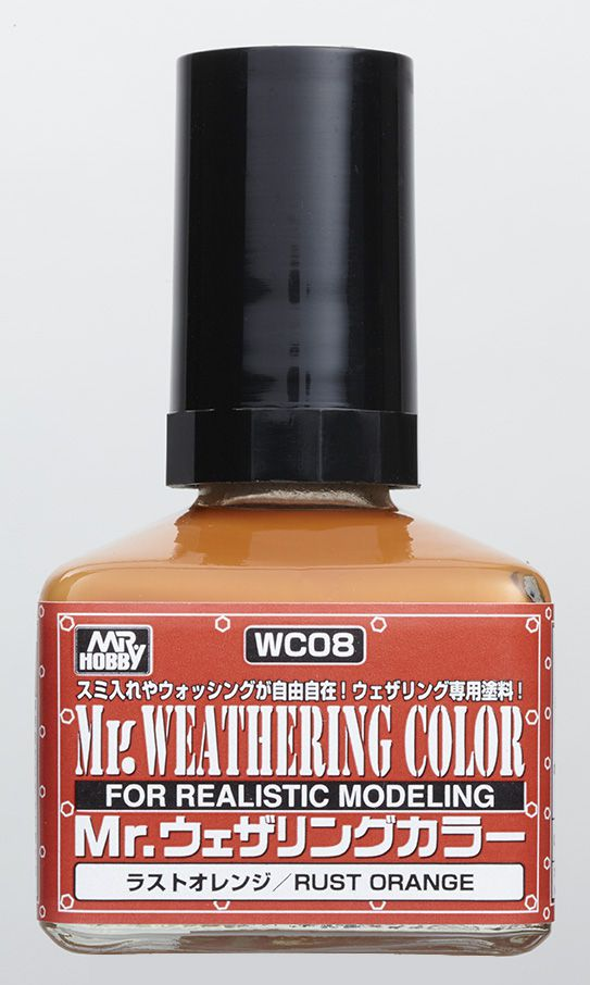 Mr Weathering Color Rust Orange WC08