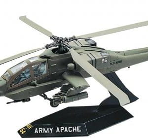 Revell Apache Helicopter SnapTite Scale: 1/72 85-1183
