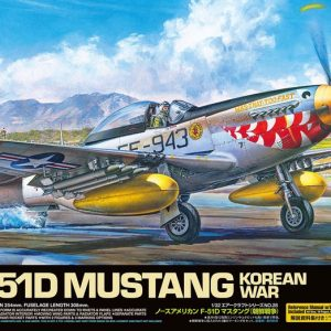 Tamiya North American F-51D Mustang Korean War 60328