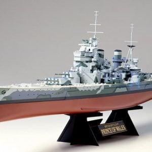 Tamiya British Battleship Prince Of Wales 1:350 Scale Kit 78011