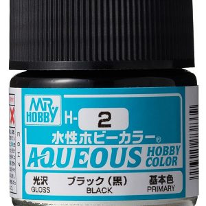 Mr Hobby Aqueous H2 Gloss Black Primary