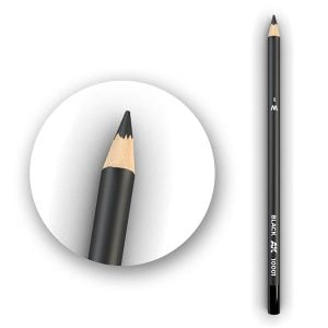 AK Interactive Watercolor Pencil Black AK10001