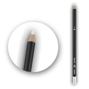 AK Interactive Watercolor Pencil White
