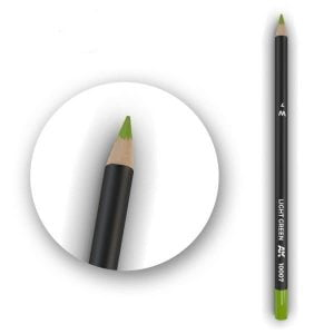 AK Interactive Watercolor Pencil Light Green