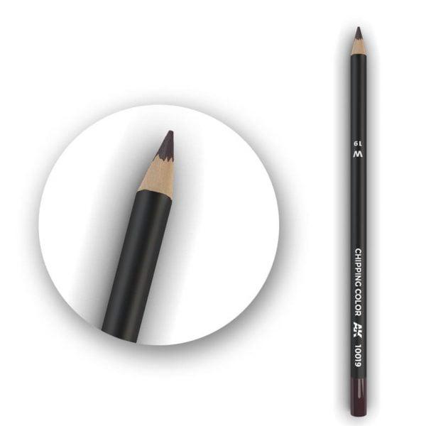AK Interactive Watercolor Pencil Chipping Color