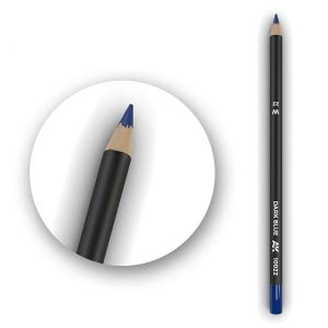 AK Interactive Watercolor Pencil Dark Blue