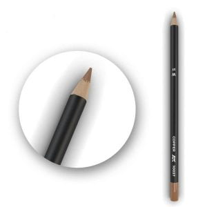 AK Interactive Watercolor Pencil Copper