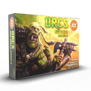 AK Interactive Orcs And Green Creatures Set