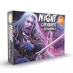 AK Interactive Night Creatures Flesh Tone Set