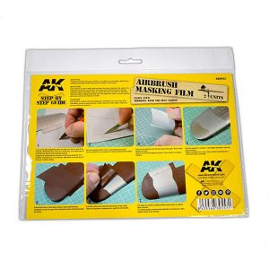 AK Interactive Airbrush Masking Film Set of 2
