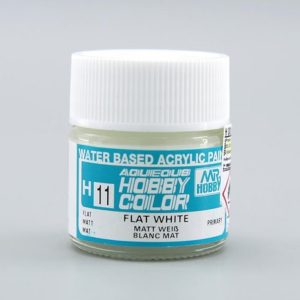 Mr Hobby Aqueous H11 Flat White Primary