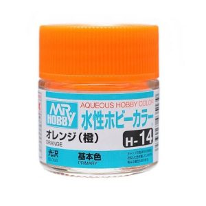 Mr Hobby Aqueous H14 Gloss Orange Primary