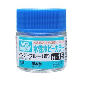 Mr Hobby Aqueous H15 Gloss Bright Blue Primary