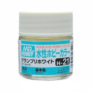 Mr Hobby Aqueous H21 Gloss Off White Primary