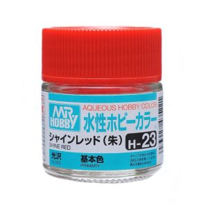 Mr Hobby Aqueous H23 Gloss Shine Red Primary