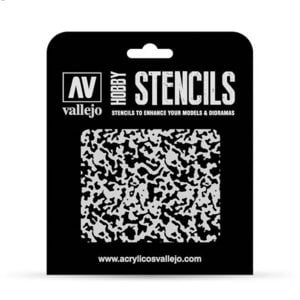 Vallejo Stencils Weathered Paint 1/48 1/48 Scale ST-AIR001