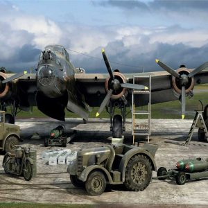 Airfix WWII RAF Bomber Re-Supply Set 1/72 Scale