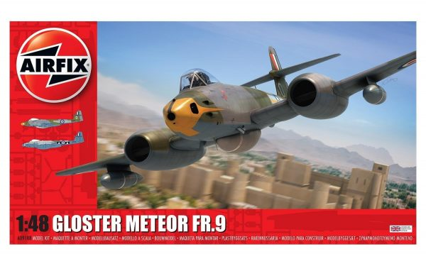 Airfix Gloster Meteor FR.9 1/48 Scale A09188
