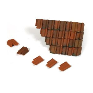 Vallejo Damaged Roof Section and Tiles 1/35 Scale