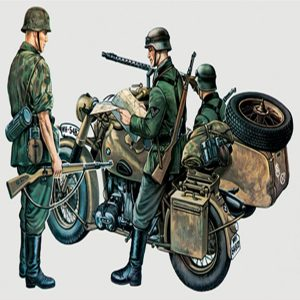 Italeri BMW R75 With Sidecar