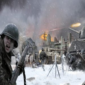 Italeri Bastogne Diorama Battle Set