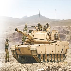 Italeri M1 A2 Abrams With Infantry