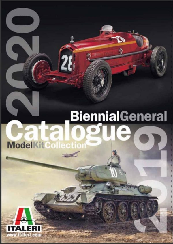 Italeri 2020 Catalog Catalogue 09305